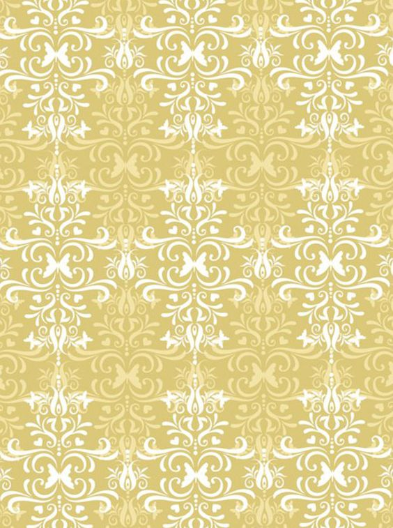 butterfly damask eco-luxe designer x-large gift wrap paper
