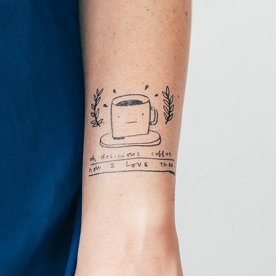 cup tattoo - Buscar con Google
