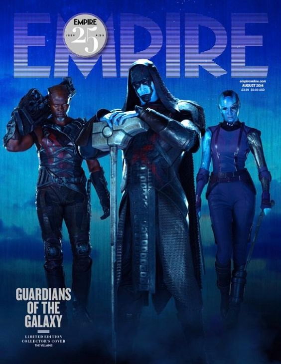 Ronan & the Guardians of the Galaxy made the cover of Empire
