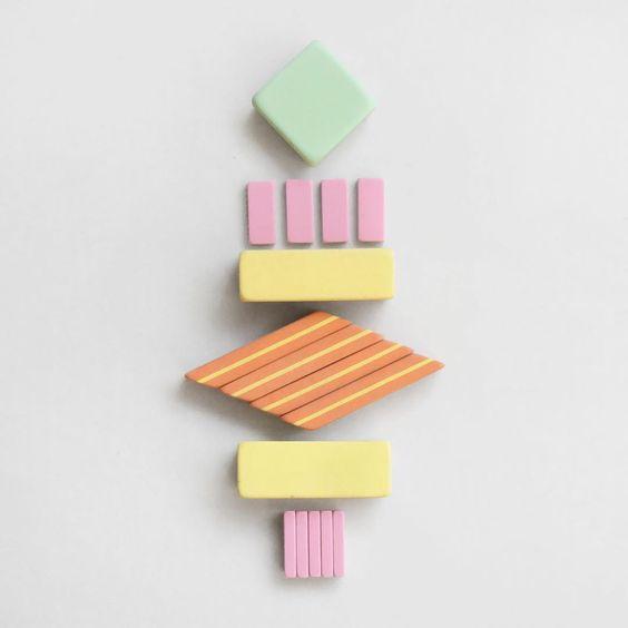 Happy Friday All! Eraser Totem (v)  #erasertotem