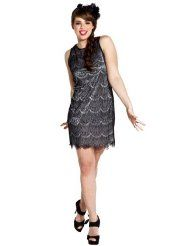 Scalloped Lace Overlay Mini Flapper Dress Junior & Junior Plus Size  Clothing - Up to 40 Off Dresses http://www.amazon.com/l/4642811011/?_encoding=UTF8=toy.model.collection.hobby-20=ur2=1789=9325 $34.99