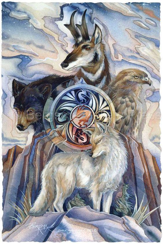 Animales: Maestros y Sanadores: ESPÍRITUS ANIMALES