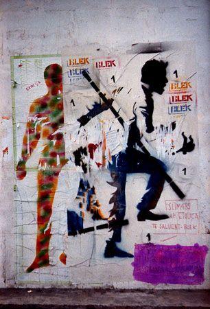 Blek le Rat / 1984 / Paris - France