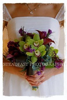Wedding, Flowers, Bouquet, The olive rose
