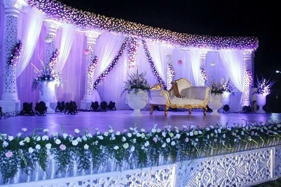 40 Best Wedding Reception Stage Decoration Ideas For 2018 Wedding Hall Decorations Wedding Stage Wedding Stage Decor
