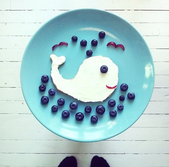 12 Adorable Plates of Food Shaped Like Animals by Ida Skivenes --- source: theKitchn.com