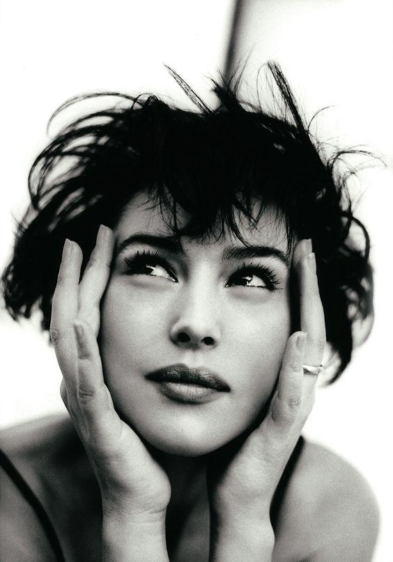 fashionphotographyscans: Year: 1996Models: Monica Bellucci Photographer: Chico Bialas* http://fashographyscans.com/