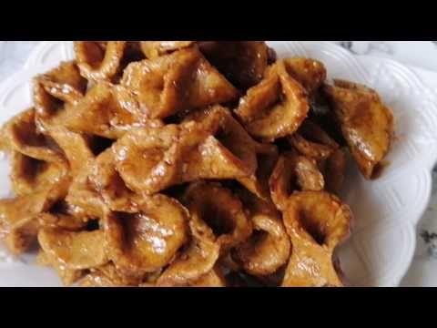 حلوة البليغات هشيشة في الفرن بدون قلي معسلة بطريقة صحية بدون سكر حتى مريض السكر سيتناوله بدون عسل Youtube Food Breakfast Waffles