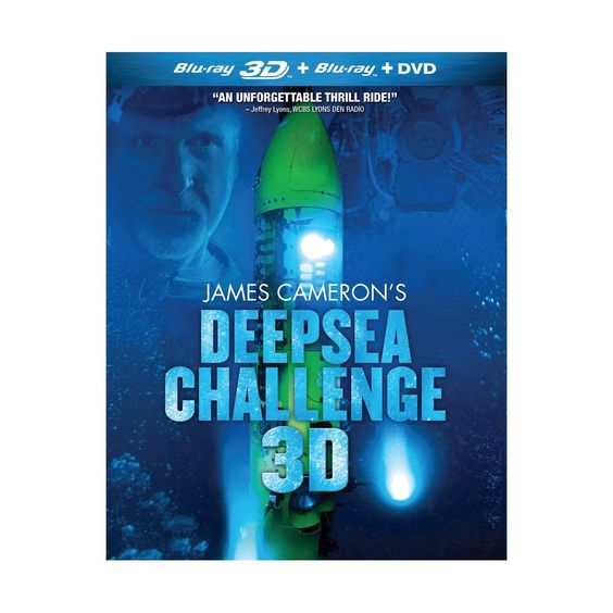James Cameron's Deepsea Challenge [2 Discs] [Blu-ray/DVD]