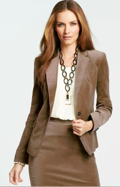 brown suit for women | Fashion & Inspiration 2 | Pinterest | Nice
