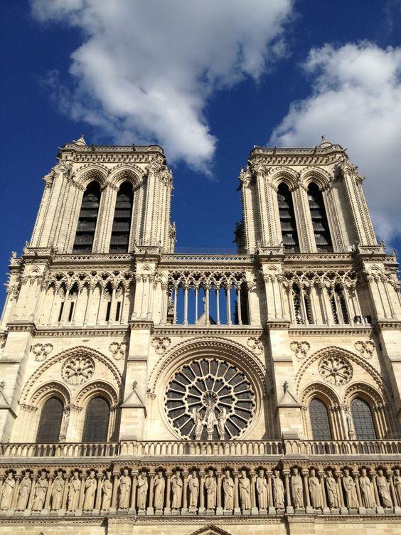Cathédrale Notre-Dame de Paris in Paris, Île-de-France