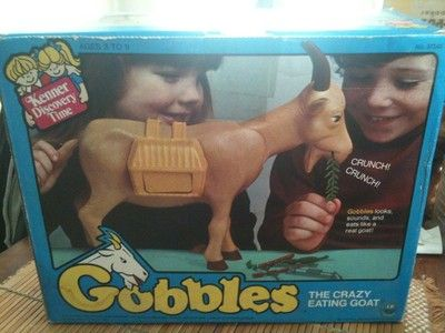 Gobbles the crazy goat toy, and so began my love of goats!