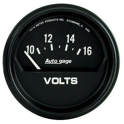 Sponsored Ebay Autometer 2319 Autogage Electric Voltmeter Gauge In 2020 Automotive Mechanic Gauges Automotive