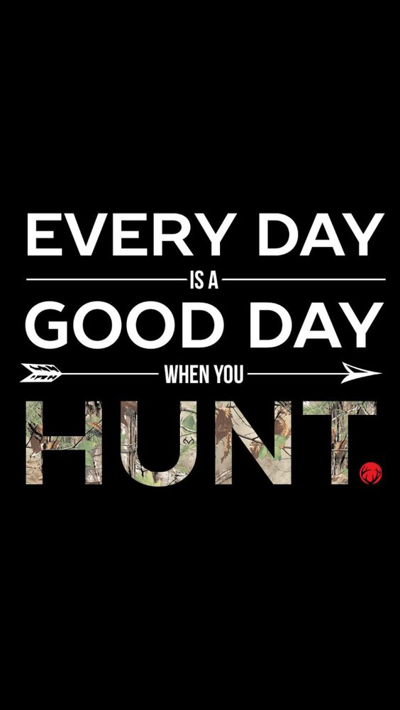 Good day to hunt!: