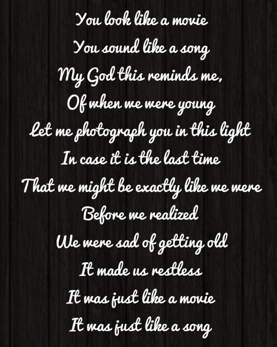 When We Were Young: Adele When We Were Young Lyrics