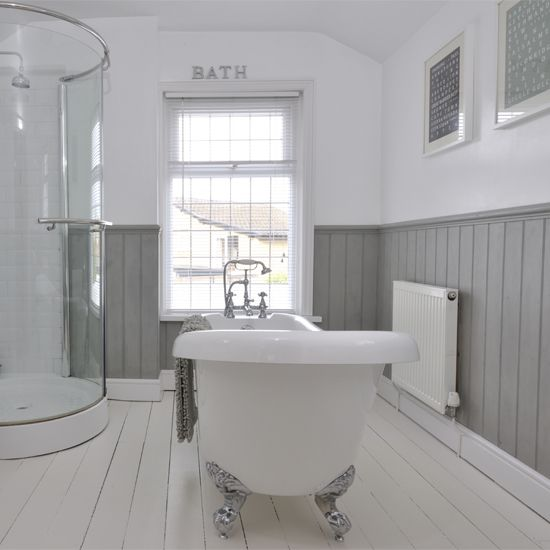 Thoughts On Tongue Groove Panelling In Bathroom Mumsnet Discussion For The Home Pinterest Family And House