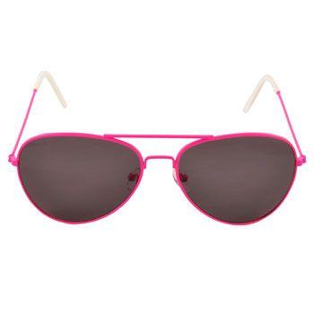 Neon Aviator Sunglasses