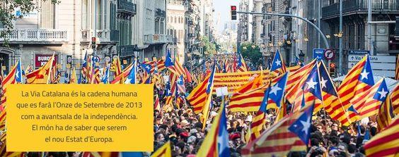 Cadena Humana 2013 a Catalunya