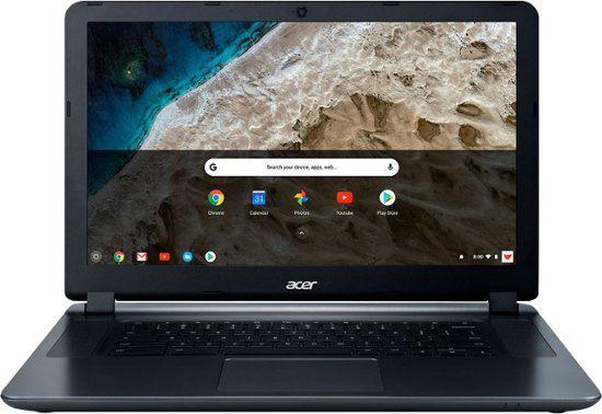 Acer 15 6 Chromebook Intel Celeron 4gb Memory 16gb Emmc Flash Memory Granite Gray Cb3 532 C8df Best Buy Chromebook Laptop Computers Laptop Acer