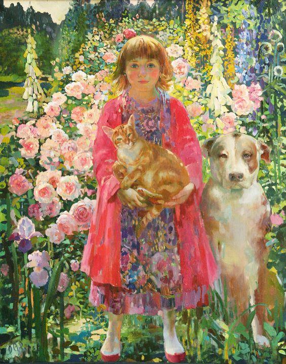 Olga Suvorova oil painting.: