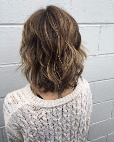 Chic Short Shag Bob