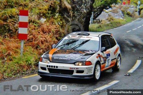 Honda Civic Eg6 Rally Car Flatout Ie Pinterest Rally Car