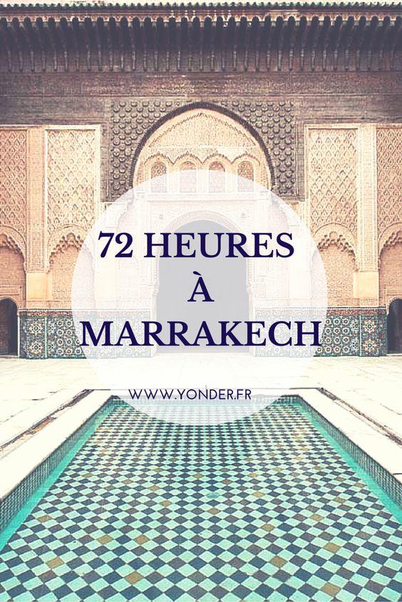 72 heures à Marrakech : les bonnes addresses de la ville ocre  / Yonder