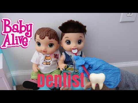 The Gummy Channel Youtube Baby Alive Baby Dentist