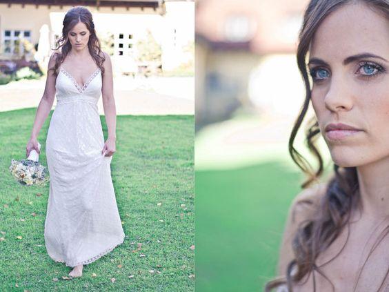 Lili – Brautkleid aus Spitze im Hippie-Stil