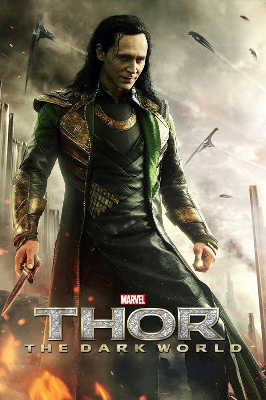 Thor The Dark World Dvd 2013 Loki Poster Loki Movie Loki Thor