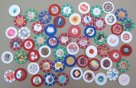 This would be really fun to make a set of customized poker chips for Joe to use during his game nights...  I smell a birthday present idea!  :D
