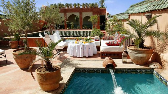 Riad Safar. Marrakesh, Morocco