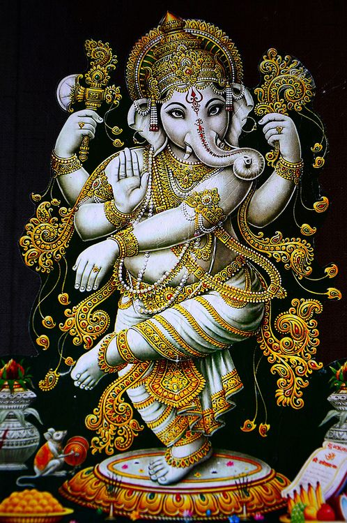Lord Ganesha HD Wallpaper