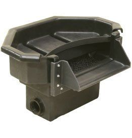"""Elite Cascading Waterfall Size: 30"""" by Pond Builder. $441.69. Design is stylish and innovative. Satisfaction Ensured.. Great Gift Idea.. Manufactured to the Highest Quality Available.. PB1120 Size: 30"""" Features: -Removable landscape lid.-Octagonal design improves strength.-Stainless steel hardware.-Two spinweld plumbing fittings.-Reversible weir.-Max pump flow: 10,000 GPH.-Inlet size: two 2"""" spinwelds. Dimensions: -Waterfall Width: 10"""" Spillway."""