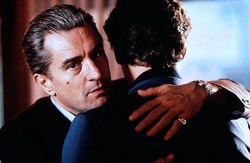 Robert De Niro and Ray Liotta in Goodfellas (1990)