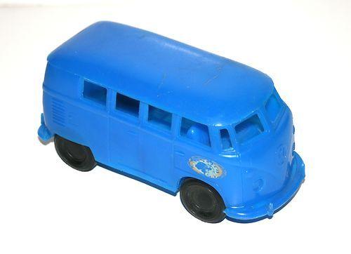Vintage Gay Toys Inc 7 Quot Long Blue Plastic Volkswagon Vw
