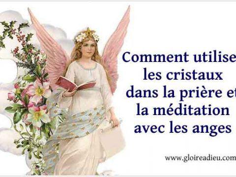 Gloire A Dieu Priere Cristaux Comment Prier