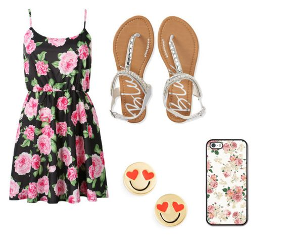 """""""floral beauty"""" by magy662520 ❤ liked on Polyvore featuring beauty, Aéropostale and Kate Spade"""