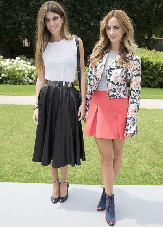 Bianca Brandolini y Alexia Niedzielski,Dior Haute Couture AW14'15