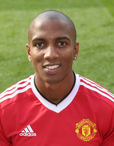 Ashley Young Of Manchester United Poses During The Club S Annual Photocall At Old Trafford On September Manchester United Ashley Young Manchester United Coach
