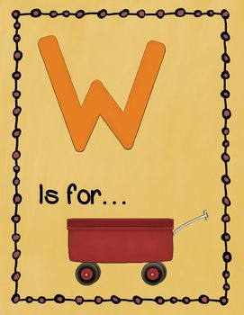 Letter W Story and Writing Activities | Pinterest | The o'jays ...