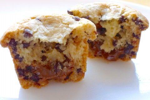 Gluten-Free Salted Molten Chocolate Chip Dulce de Leche–Stuffed Cookies | Silvana's Kitchen