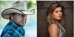 Jason Aldean and Kelly Clarkson both Won Vocal Event of the Year at the 2012 Academy of Country Music Awards
