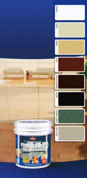 Baños De Microcemento:Microcemento Recuplast 25kg Kit Completo – $ 1510,00 en MercadoLibre