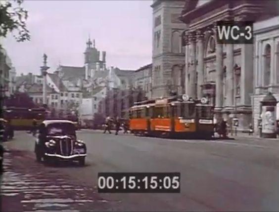 How looked Wasaw before the war / Przedwojenna Warszawa w kolorze 1939 nieznany film! Pre-War Warsaw in co...