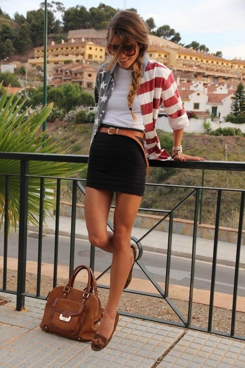 We love cute fourth of July outfits like this one!