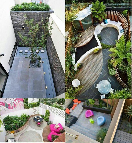 Pequeños jardines: