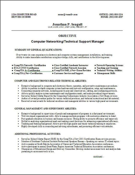 Functional Skills Based Resume Template | Sample Resume | Resume