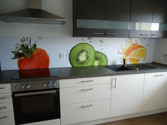 Küchenrückwand Küchenrückwände Pinterest - küchenrückwand glas bedruckt