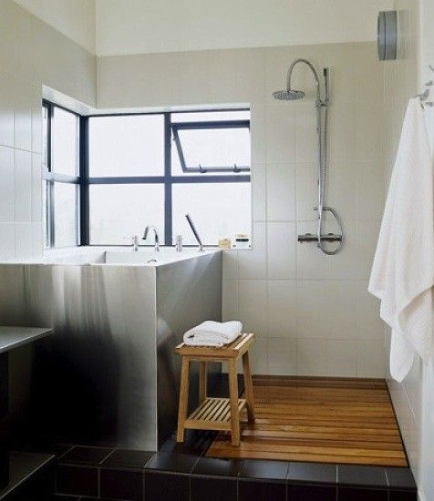 Place Architects Shower And A Deep Soaking Tub Bathroom Pinterest Tub S